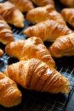 Fresh croissants Stock Images