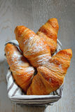 Fresh croissants Stock Photos