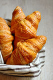 Fresh croissants Stock Image