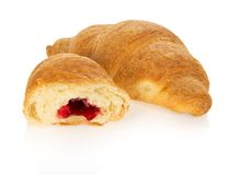 Fresh croissants for a breakfast Royalty Free Stock Photo