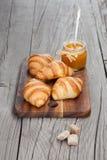 Fresh croissants Royalty Free Stock Photos