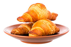 Fresh Croissants. Stock Images