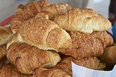 Fresh Croissants Royalty Free Stock Photography