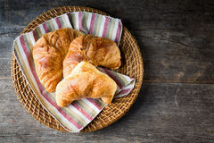Fresh croissants Stock Photography