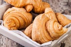 Fresh Croissants Stock Photography