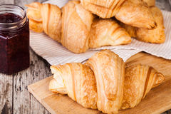 Fresh Croissants Royalty Free Stock Photos