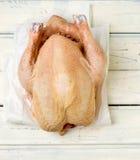 Fresh, crude farmer chicken Royalty Free Stock Photo