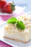 Fresh crumb cake Royalty Free Stock Photo