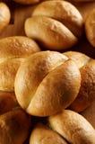 Fresh crunchy bread rolls. For breakfast stock photo