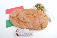 Fresh crusty bread Stock Image