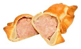 Fresh Crusty Pork Pies Royalty Free Stock Photography