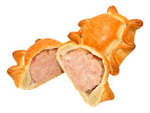 Fresh Crusty Pork Pies Royalty Free Stock Image
