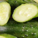 Fresh cucumber as a  background Royalty Free Stock Photo