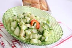 Fresh cucumber salad Royalty Free Stock Photography