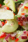 Fresh cucumber salad Royalty Free Stock Photography