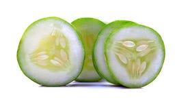 Fresh cucumber slices Royalty Free Stock Image