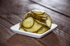 Fresh Cucumber slices Stock Image