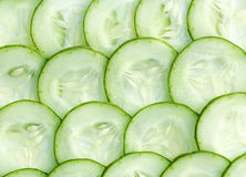 Fresh Cucumber and slices Royalty Free Stock Image