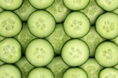 Fresh cucumber slices background. Fresh cucumber slices background, tasty, natural Royalty Free Stock Photography