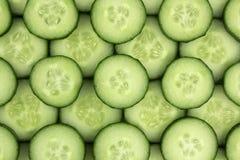 Fresh cucumber slices background. Fresh cucumber slices background, tasty, natural Royalty Free Stock Photo