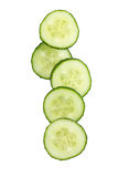 Fresh Cucumber Slices Royalty Free Stock Image