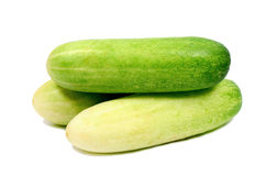 Fresh Cucumbers. Stock Photo