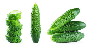 Fresh cucumbers Royalty Free Stock Photography