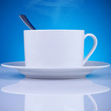 Fresh cup of coffee Stock Photos