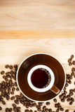 Fresh Cup of Coffee Royalty Free Stock Photos
