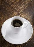 Fresh Cup of Coffee Royalty Free Stock Photography