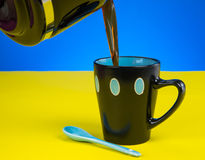Fresh Cup Coffee Royalty Free Stock Photos