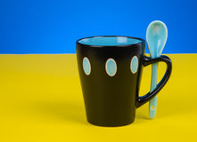 Fresh Cup Coffee Royalty Free Stock Photography
