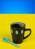 Fresh Cup Coffee Stock Photo