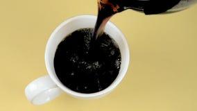 Fresh Cup Coffee stock video
