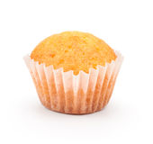Fresh cupcake closeup Royalty Free Stock Photography