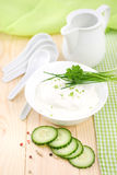 Fresh curd Royalty Free Stock Photography