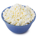 Fresh curd cheese Stock Image