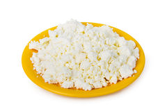 Fresh curd cheese Stock Photography
