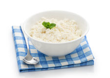 Fresh curd cheese Royalty Free Stock Images