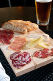 fresh cured meats Stock Photography