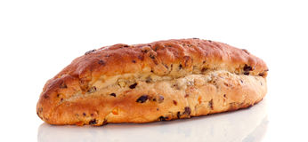 Fresh currant bread Stock Images