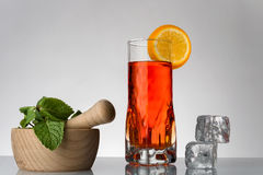Fresh currants flavoured drink Stock Photography