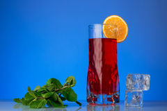 Fresh currants flavoured drink Royalty Free Stock Photography