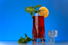 Fresh currants flavoured drink Stock Photos