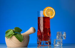 Fresh currants flavoured drink Stock Image