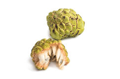 Fresh Custard Apple isolated Royalty Free Stock Photography