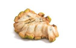 Fresh Custard Apple isolated. On white background royalty free stock photos