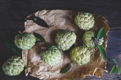 Fresh Custard Apples Stock Photography