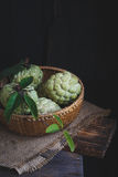 Fresh Custard Apples Royalty Free Stock Photography