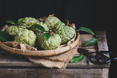 Fresh Custard Apples Royalty Free Stock Image